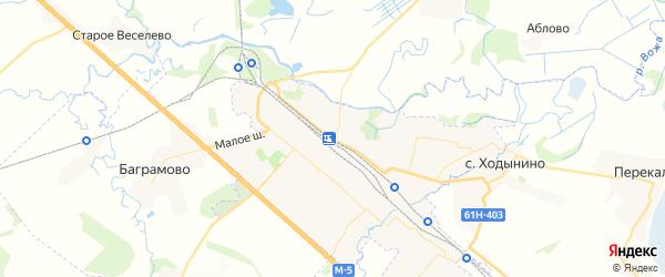 Карта Рыбного с районами, улицами и номерами домов: Рыбное на карте России