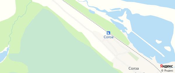 СНТ КОЛОС на карте Северодвинска с номерами домов