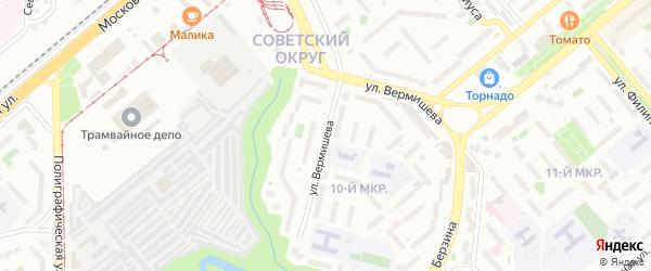 Ул Ясеневая, Москва — Почтовые индексы на карте