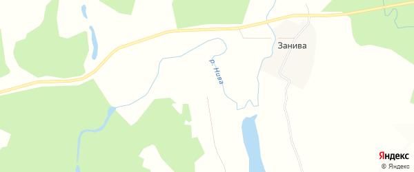 Карта деревни Степачихи в Архангельской области с улицами и номерами домов