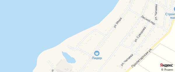 Набережная 1-я улица на карте Красногвардейского села с номерами домов
