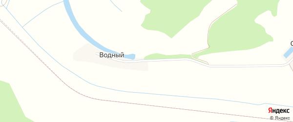 Зеленая улица на карте Водного поселка с номерами домов