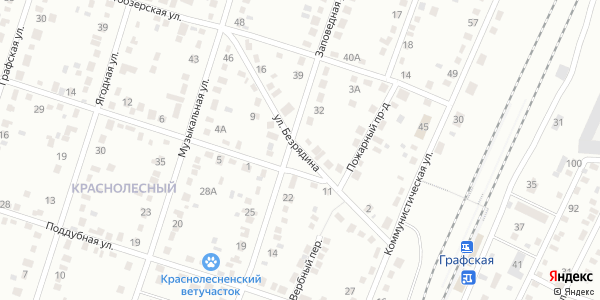 Безрядина Улица в Воронеже