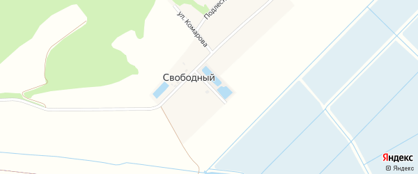 Улица Черемушки на карте Свободного поселка с номерами домов