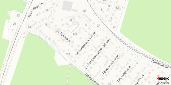 Железнодорожная Улица в Воронеже