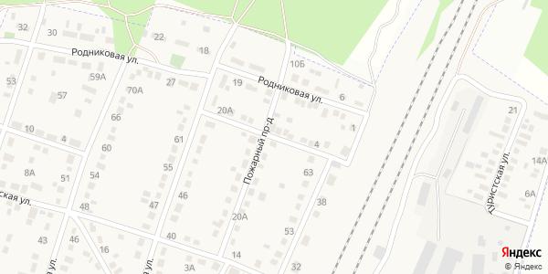 Пожарный 2-й Проезд в Воронеже