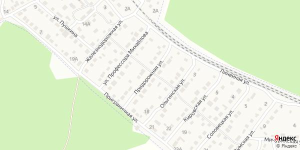 Придорожная Улица в Воронеже