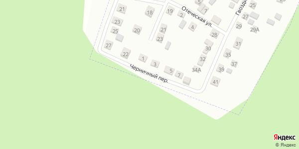 Черничный Переулок в Воронеже