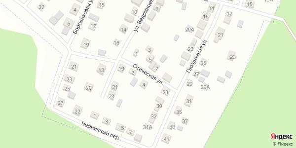 Отеческая Улица в Воронеже