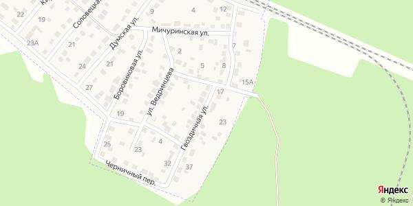 Гвоздичная Улица в Воронеже