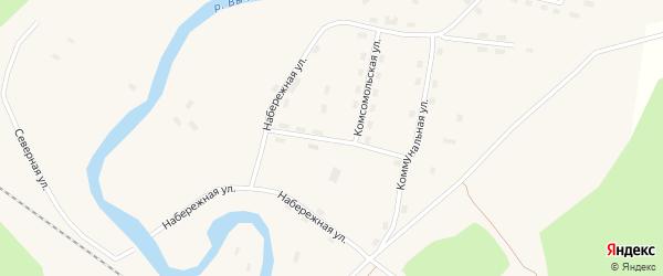 Леспромхозовская улица на карте поселка Кодино с номерами домов
