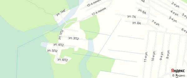 СНТ ПЕНЬКИ на карте Северодвинска с номерами домов