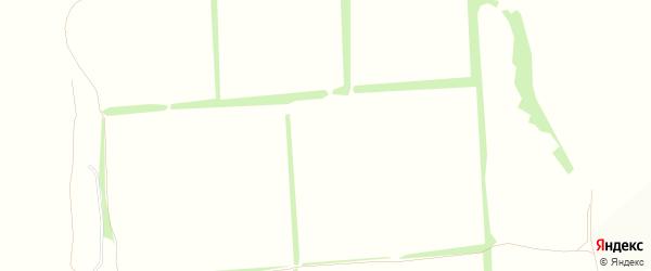 Карта поселка СТ Озерки города Россоши в Воронежской области с улицами и номерами домов