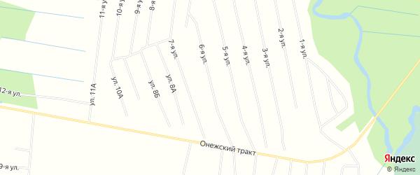 ГСК N4 Двина на карте Северодвинска с номерами домов