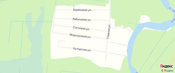 СНТ МЕДИК на карте Северодвинска с номерами домов