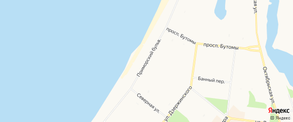 Карта садового некоммерческого товарищества Ивушки в Архангельской области с улицами и номерами домов