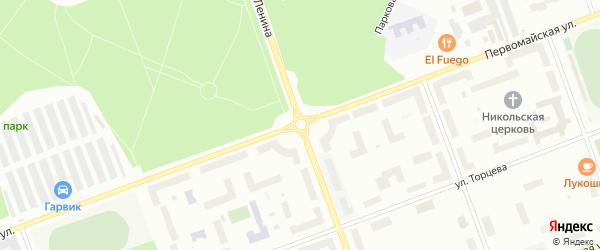 Площадь Егорова на карте Северодвинска с номерами домов