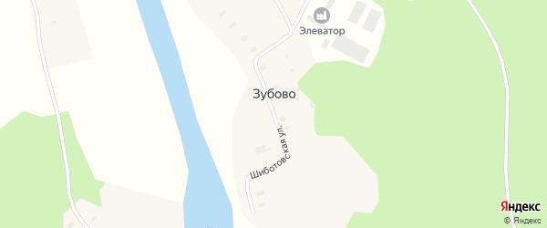 Шиботовская улица на карте села Федово с номерами домов