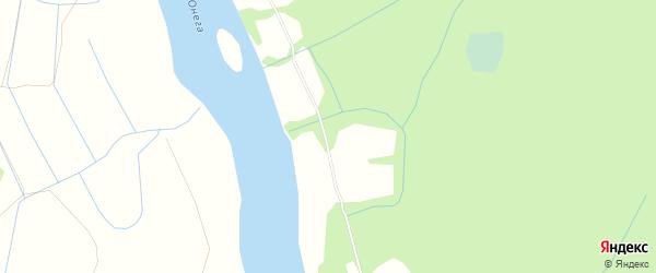 Карта деревни Сысова в Архангельской области с улицами и номерами домов