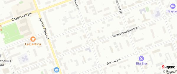 Полярная улица на карте Северодвинска с номерами домов