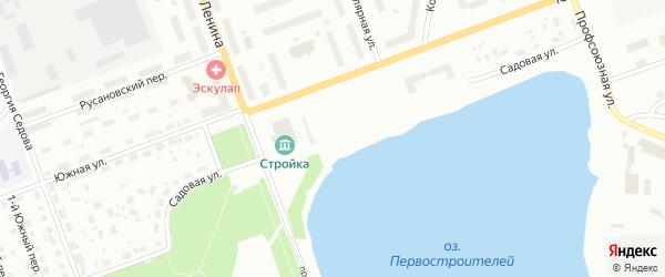 Садовая улица на карте Северодвинска с номерами домов