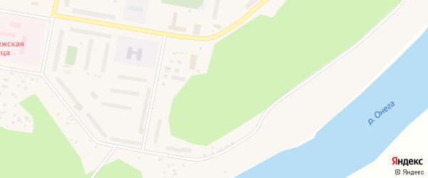 3-й микрорайон на карте поселка Североонежска с номерами домов