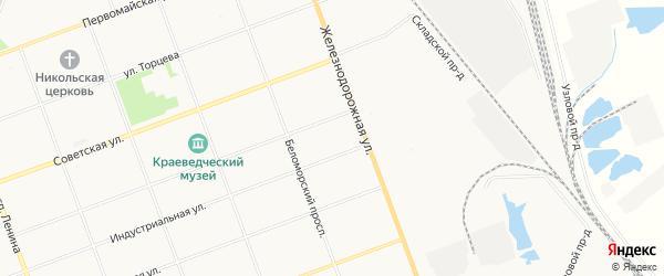 ГСК Дорожный N9 на карте Северодвинска с номерами домов