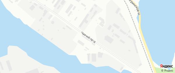 Чаячий проезд на карте Северодвинска с номерами домов