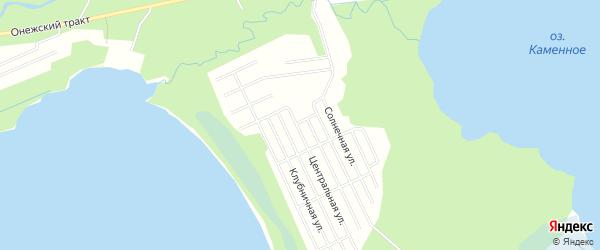 СНТ ДРУЖБА на карте Северодвинска с номерами домов