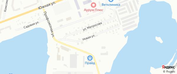 Новая улица на карте Северодвинска с номерами домов