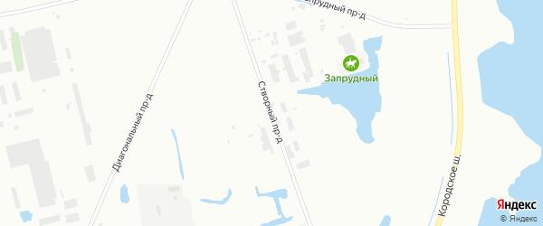Створный проезд на карте Северодвинска с номерами домов