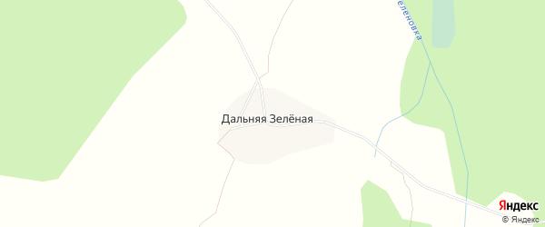 Карта Дальней Зеленой деревни в Архангельской области с улицами и номерами домов