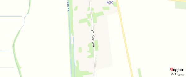 Улица Ковтуна на карте села Штурбино с номерами домов
