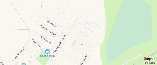 Восточная улица на карте Оксовский поселка с номерами домов