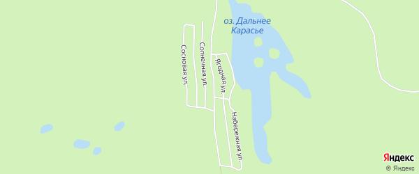 Карта садового некоммерческого товарищества СОТА Шиферника в Архангельской области с улицами и номерами домов