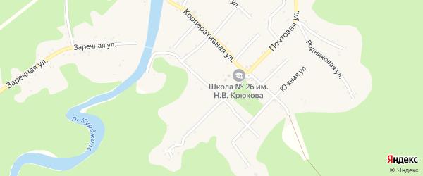 Пролетарская улица на карте Дагестанской станицы с номерами домов