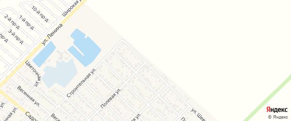 Улица Шевченко на карте Гавердовского хутора с номерами домов