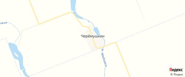 Карта поселка Черемушкина в Адыгее с улицами и номерами домов
