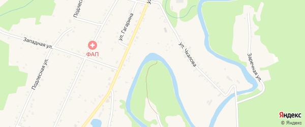 Дорога А/Д Краснооктябрьский-Курджипская-Дагест на карте Курджипской станицы с номерами домов