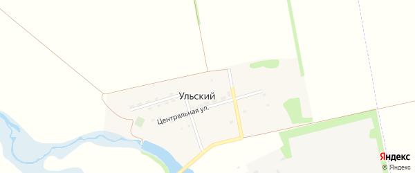 Северная улица на карте Ульского поселка с номерами домов