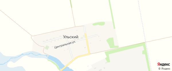 Парковая улица на карте Ульского поселка с номерами домов