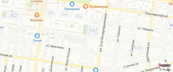 Улица 9 Января на карте Майкопа с номерами домов