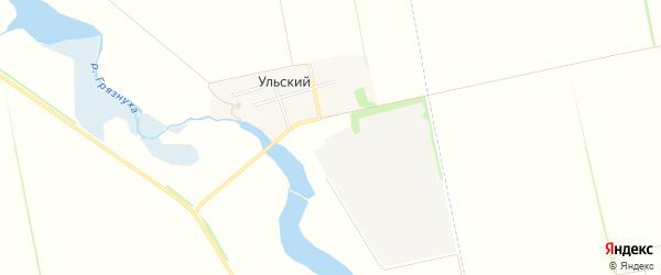 Карта Ульского поселка в Адыгее с улицами и номерами домов