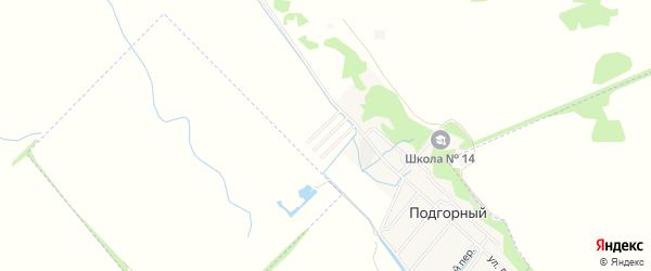 Карта садового некоммерческого товарищества Надежды-1 города Майкопа в Адыгее с улицами и номерами домов
