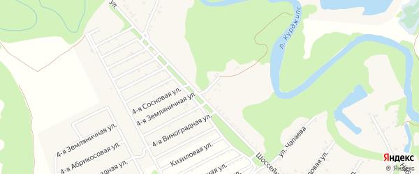 Шоссейный переулок на карте Табачного поселка с номерами домов