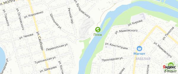 Набережная 2-я улица на карте Майкопа с номерами домов