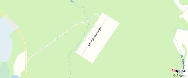 Карта садового некоммерческого товарищества СОТА Манзы в Архангельской области с улицами и номерами домов