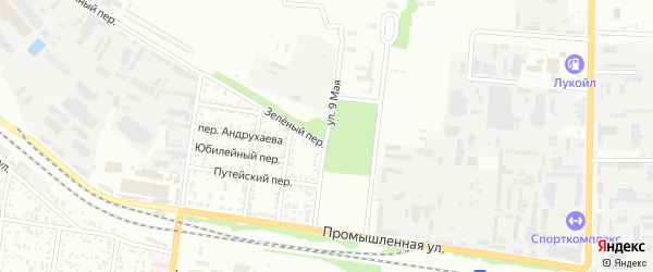 9 Мая улица на карте Майкопа с номерами домов