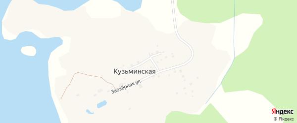 Боровая улица на карте Кузьминской деревни с номерами домов
