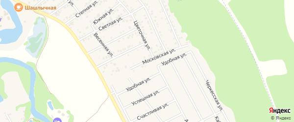 Московская улица на карте Краснооктябрьского поселка с номерами домов
